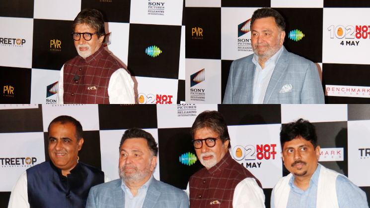 Amitabh Bachchan & Rishi Kapoor Grace Badumbaaa Song Launch In Style!