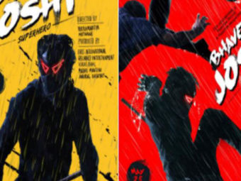 Bhavesh Joshi Superhero first look is out and it is quite quirky