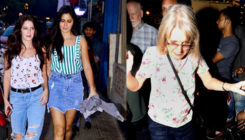 In Pictures: Katrina Kaif on a family outing with sister Isabelle Kaif and mom