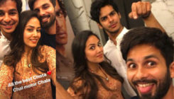 'Beyond The Clouds' screening: Mira poses for a perfect selfie with Shahid and Ishaan
