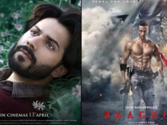 Tiger Shroff's 'Baaghi 2' holds its own against Varun's new age love story 'October'