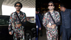 Ranveer Singh's back in the city and is not afraid to repeat his airport style! VIEW PICS