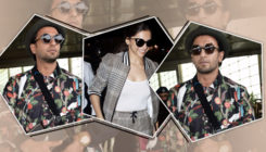 Post Deepika, Ranveer Singh papped at the airport leaving Mumbai