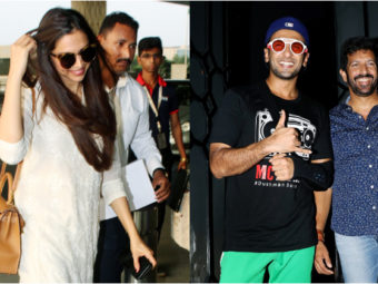 Ranveer Singh and Deepika Padukone spotted after denying their marriage rumours! See Pics