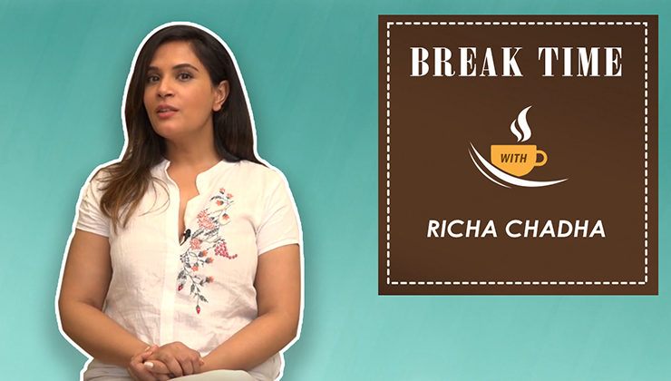 Break Time: Richa Chadha's fun game session during 'Daas Dev' promotions