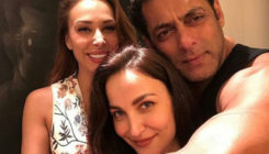 This picture of Salman hugging Elli in Iulia's presence goes viral