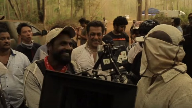 Salman Khan and Remo D'Souza