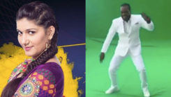 WHAT!! Chris Gayle dances to Sapna Choudhary's item number!