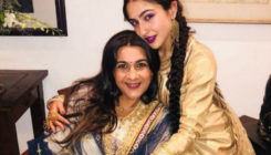 Sara Ali Khan's mom Amrita Singh too desperate for daughter's debut?