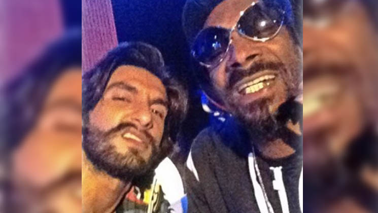 Ranveer shares throwback moment with international rapper Snoop Dogg