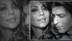 This Black and White picture of SRK and Gauri Khan shows us a thousand colours of love