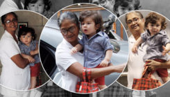 Chequered shirt and red shorts, Taimur Ali Khan is a ball of happiness. View Pics