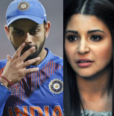 IPL 2018 : Trolls target Anushka Sharma for Virat's poor performance once again