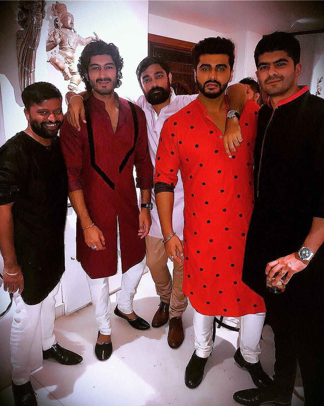 Arjun Kapoor with his squad