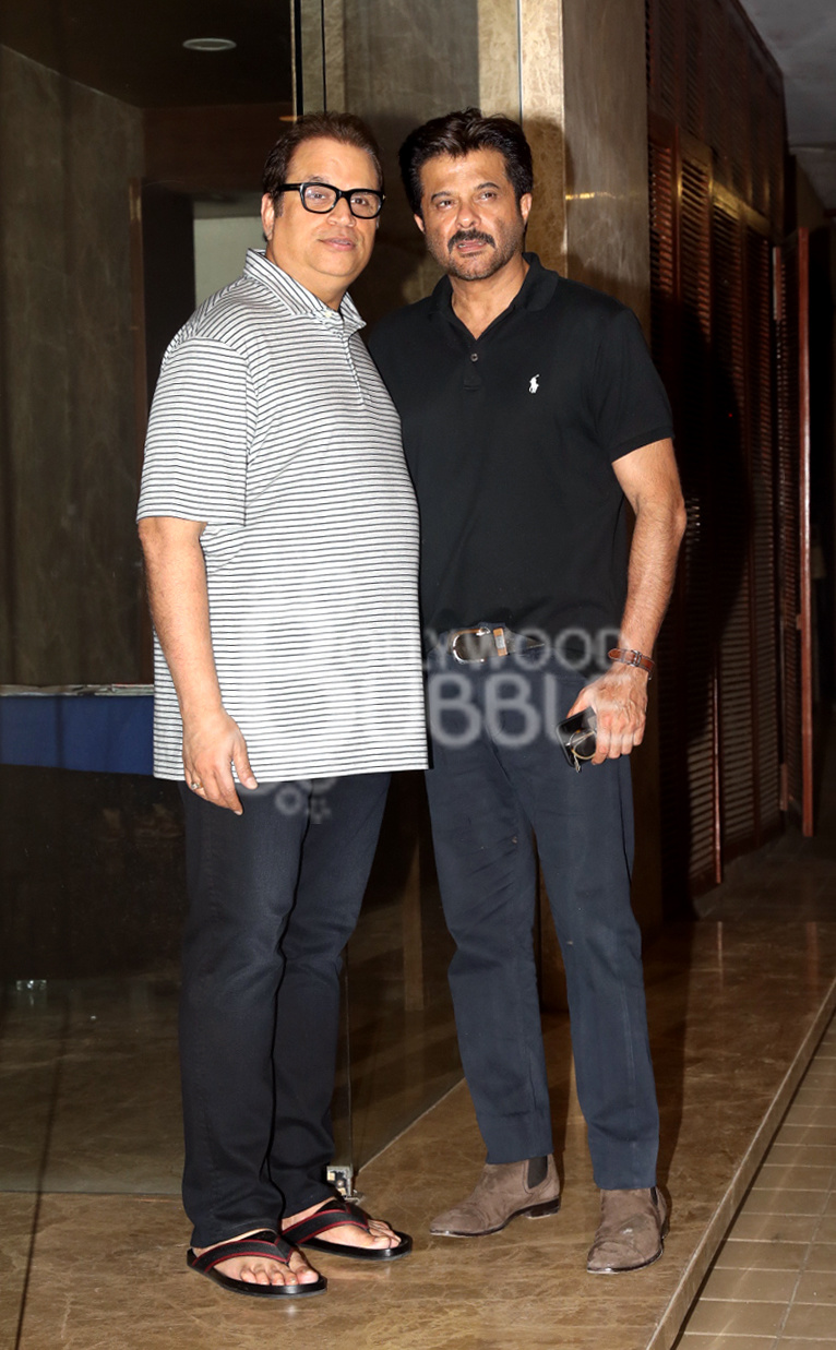 Ramesh Taurani and Anil Kapoor