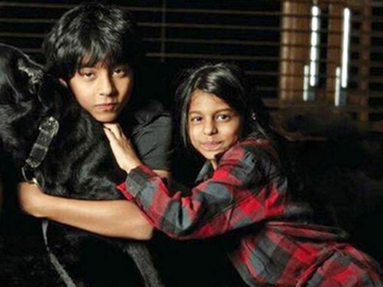 Suhana Khan and Aryan Khan