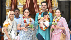 In Pics: Esha Deol and Bharat Takhtani along with daughter Radhya visited the ISKCON temple