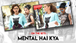 In pics: Kangana Ranaut snapped on the sets of 'Mental Hai Kya'