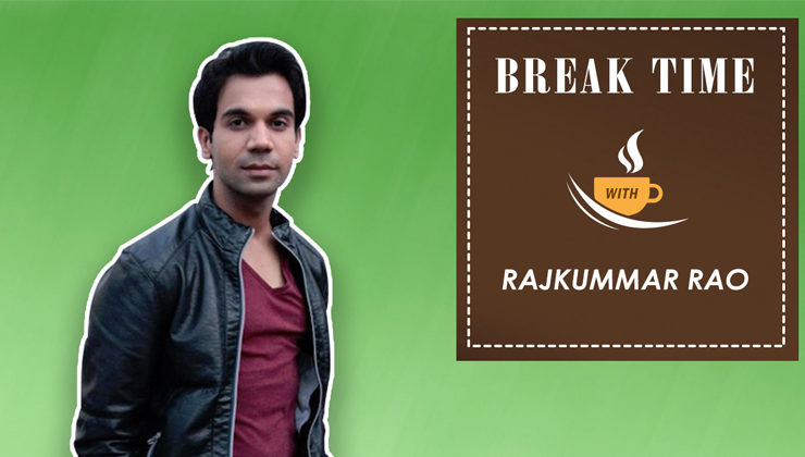 Break Time: Rajkummar Rao goes unfiltered as he promotes 'Omerta'