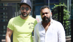 Ranbir Kapoor snapped with 'Sonu Ke Titu Ki Sweety' director Luv Ranjan
