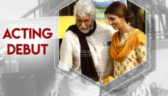 Shweta Bachchan makes her acting debut with daddy Amitabh Bachchan- view pics