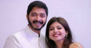 Shreyas and wife