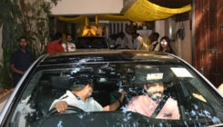 Dulhe Raja Anand Ahuja arrives in style for Mehendi ceremony