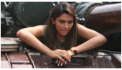 Deepika Padukone visits soldiers at the border & gets into a tank!