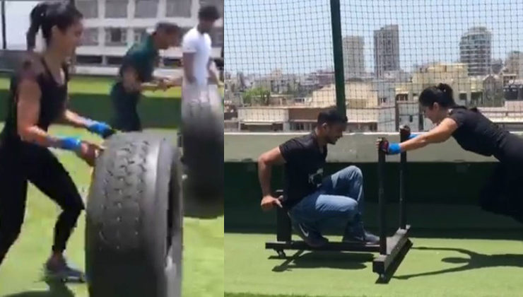 Katrina Kaif's workout session with buddies Sidharth Malhotra and Aditya Roy Kapur is pure fun