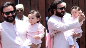 Watch: Taimur Ali Khan makes a royal entry at Sonam-Anand wedding