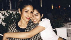 This candid moment shared between Khushi and Sridevi will bring a smile on your face