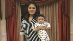 ADORABLE! Singer Sunidhi Chauhan shares the first pic of son