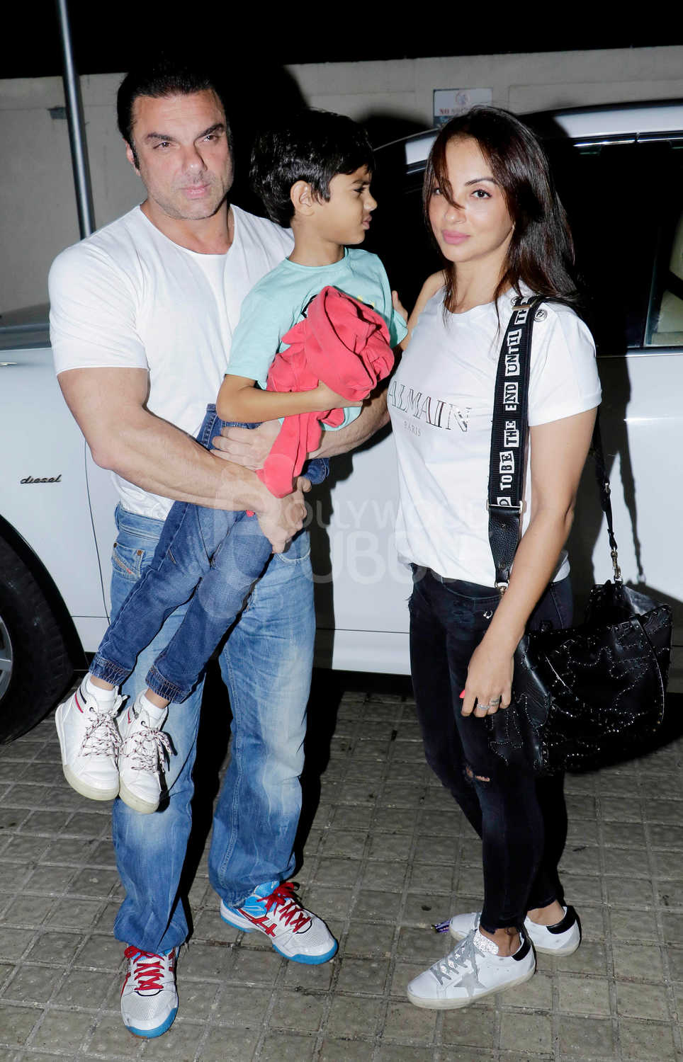 Sohail Khan with this family