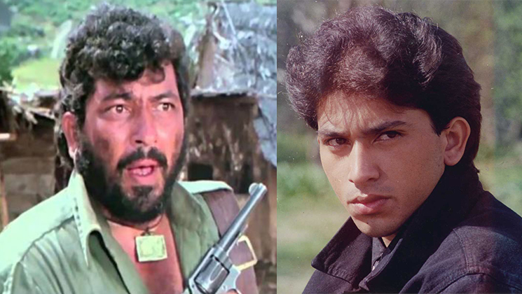 Amjad Khan and Shadaab Khan