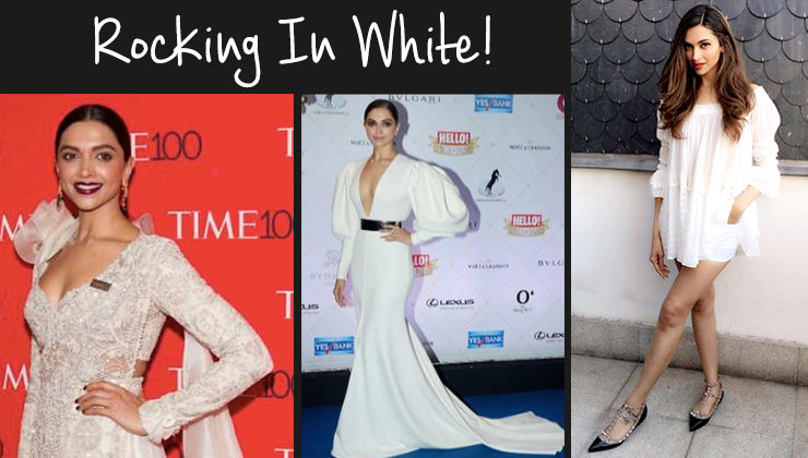 10 times Deepika Padukone proved that white is the new black