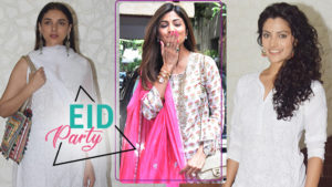 From Shilpa Shetty to Aditi Rao, celebs come in full attendance at Shabana Azmi's Eid Party!