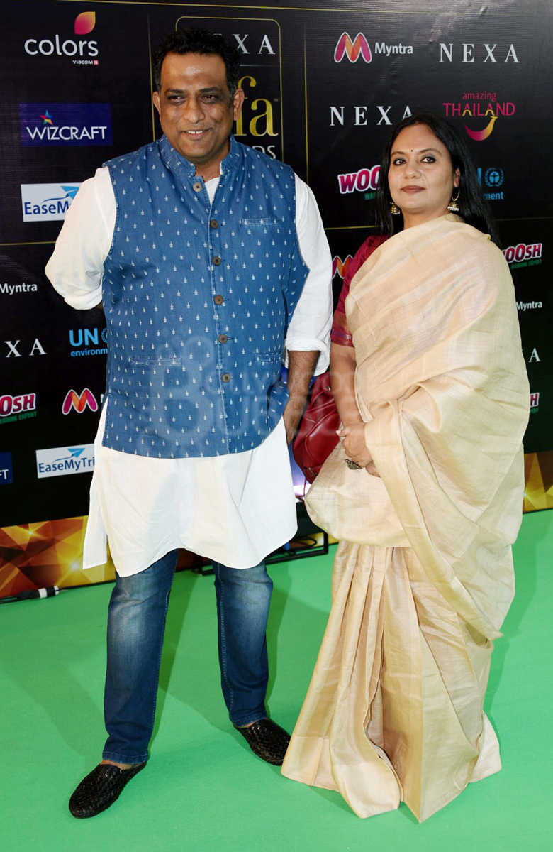 Anurag Basu and wife