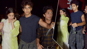 When Ishaan Khatter protected co-star Janhvi Kapoor like a true gentleman