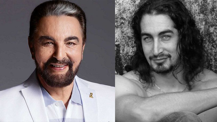 Kabir Bedi and Adam Bedi