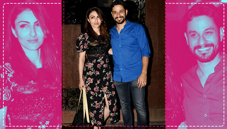 #CoupleGoals: Soha Ali Khan and Kunal Kemmu's outfits are perfect for a casual date