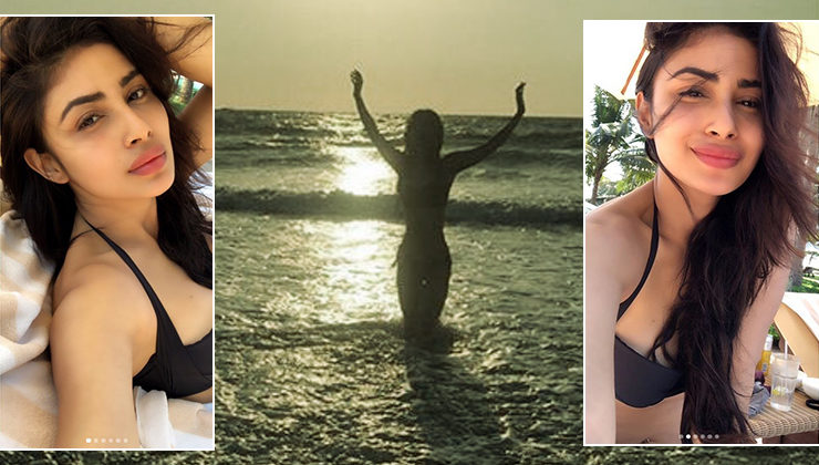 Mouni Roy's sultry pictures will make you head to a beach right away!