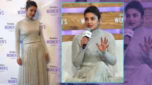 OOTD: Priyanka Chopra's shimmery monochrome outfit is a winner!