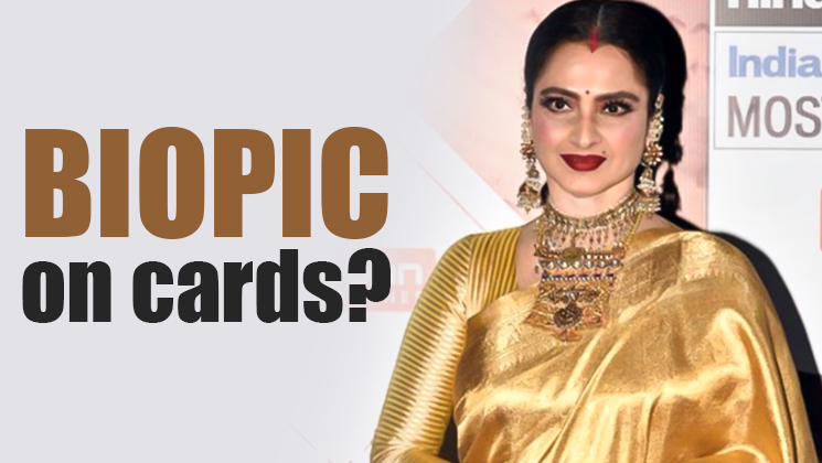 EXCLUSIVE: After Sanjay Dutt, biopic on veteran actress Rekha?