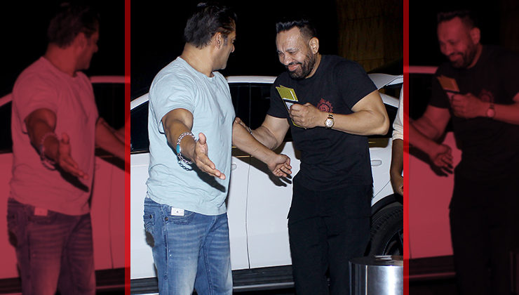 Watch: When Bhaijaan Salman Khan made his bodyguard Shera blush