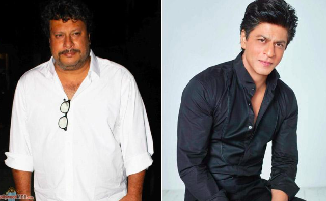 Tigmanshu Dhulia and Shah Rukh Khan