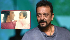 This throwback pic of a young Sanjay Dutt with baby Malvika Raaj is cute AF
