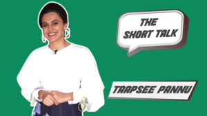 The Short Talk: Taapsee Pannu spills the beans on her upcoming film 'Soorma'