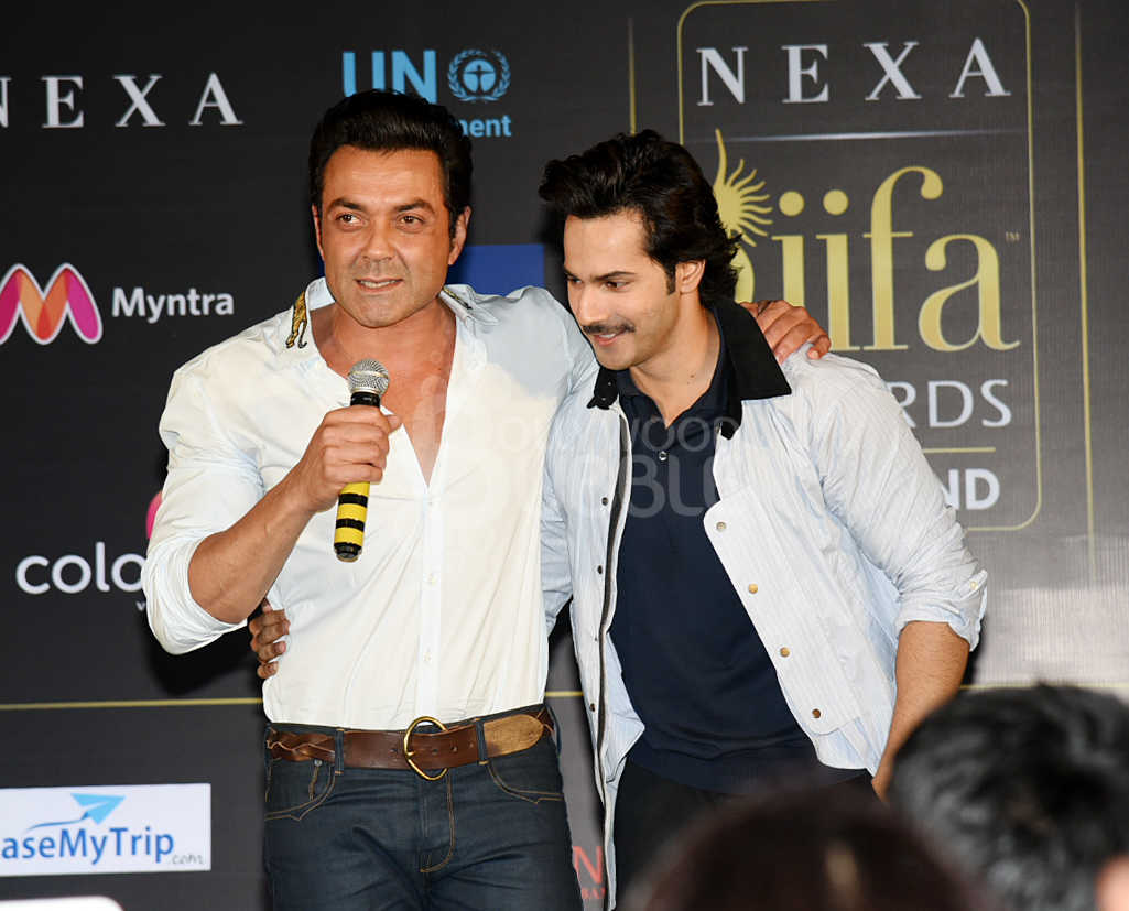 Bobby Deol and Varun Dhawan