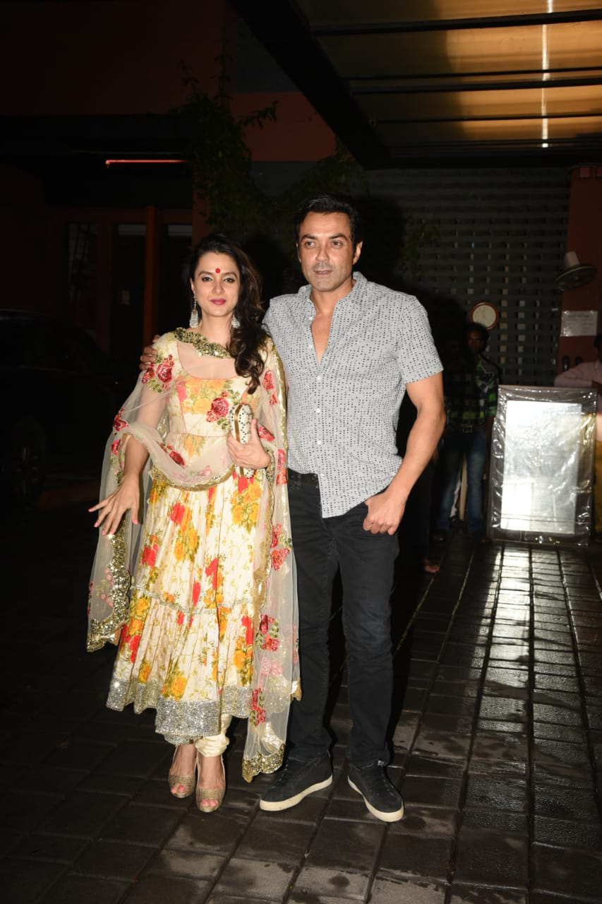 Bobby Deol and Tanya Deol