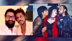 This picture of SRK trying to kiss Aamir will make you ROFL